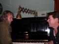 Onderonsje pianist en kapitein